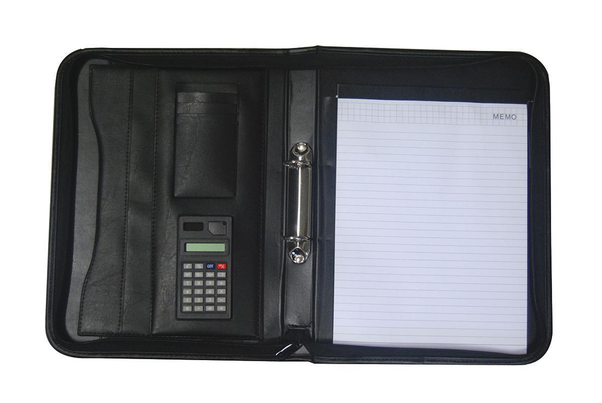 Portfolio PVC με 2κρίκους μαύρο Y34x26εκ.