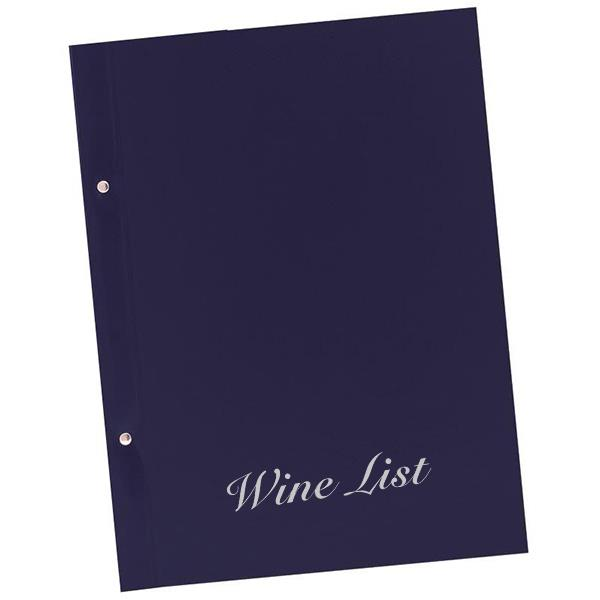 Next wine list basic 23,5x32εκ. μπλε