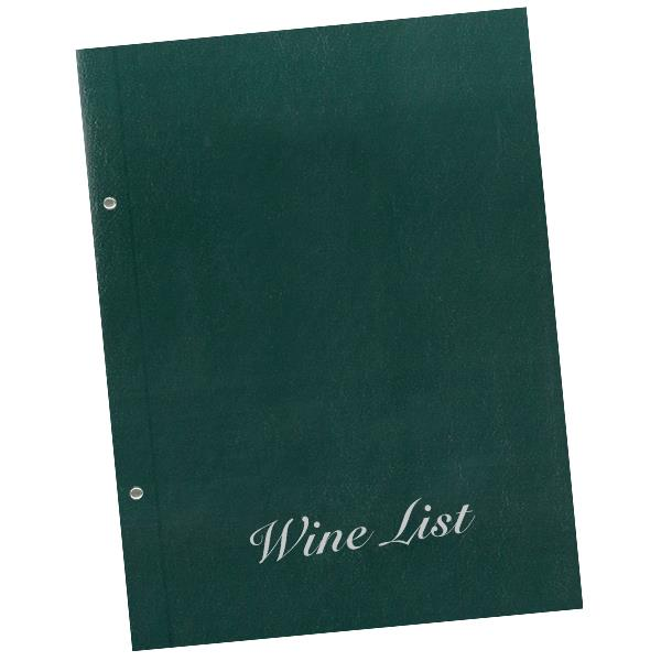 Next wine list basic 23,5x32εκ. πράσινο