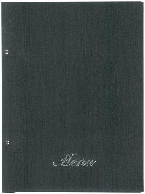 Next μενού εστιατορίου μαύρο 24x32εκ. fabric