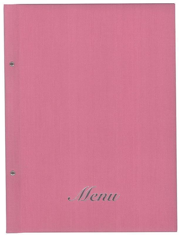 Next μενού εστιατορίου ροζ 24x32εκ. fabric