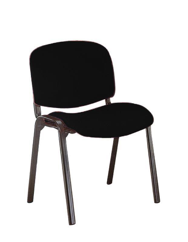 Welltrust κάθισμα αναμονής σκελ. χρωμίου μαύρο