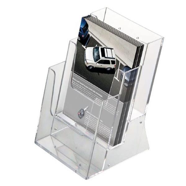 Σταντ ακρυλικό για έντυπα 3x Α5 161x163x220χιλ.
