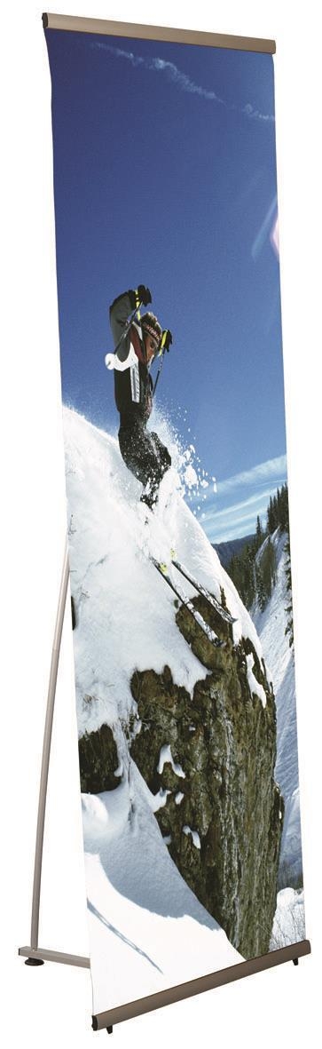 Quick banner μιας όψης 80x200εκ.