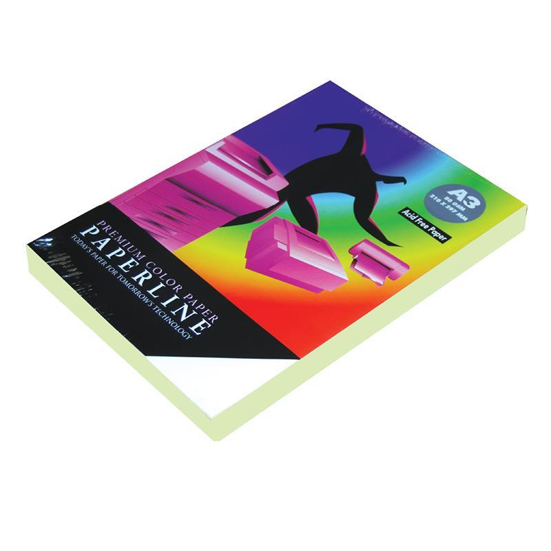 Paperline χαρτί φωτοαντ. αν.πράσινο Α3, 80γρ. 500φ.