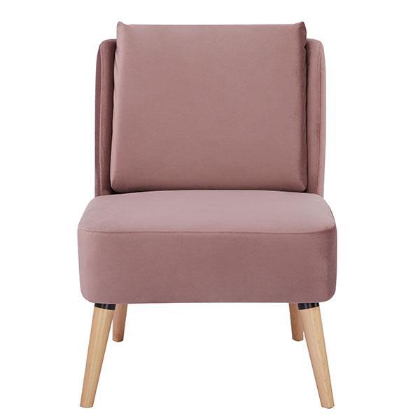 London πολυθρόνα ροζ Υ82x61x75εκ.
