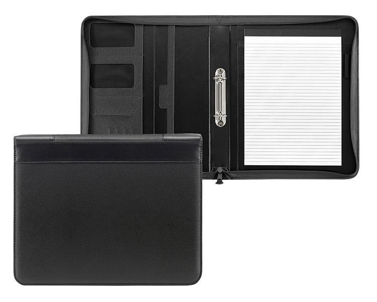 Fineline portfolio μαύρο με 2 κρ. 36x29x5εκ.