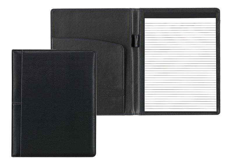 Fineline portfolio μαύρο με μπλοκ 31,5x24,5x1,5εκ.