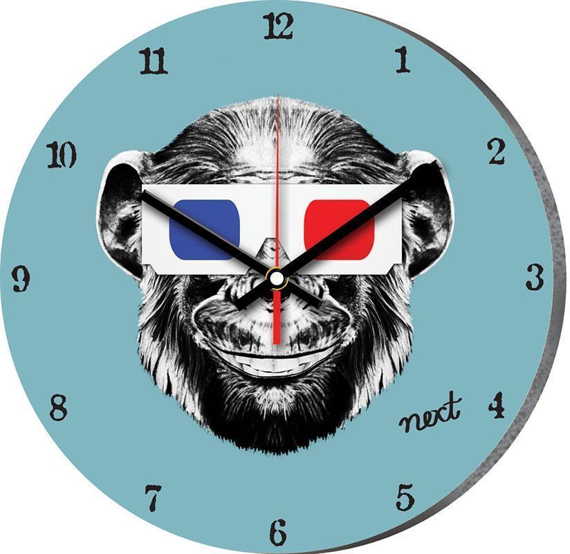 """Νext ρολόι Ø31εκ. """"πίθηκος"""""""