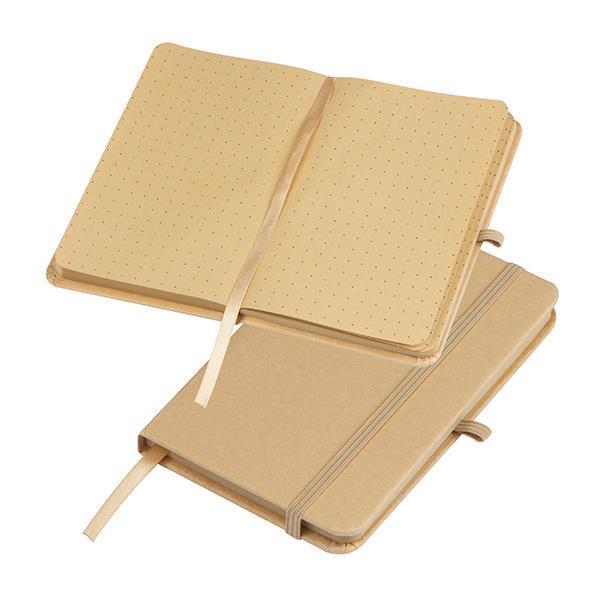 Σημειωματάριο craft με dots A6 9,1x14,1x1,5εκ.