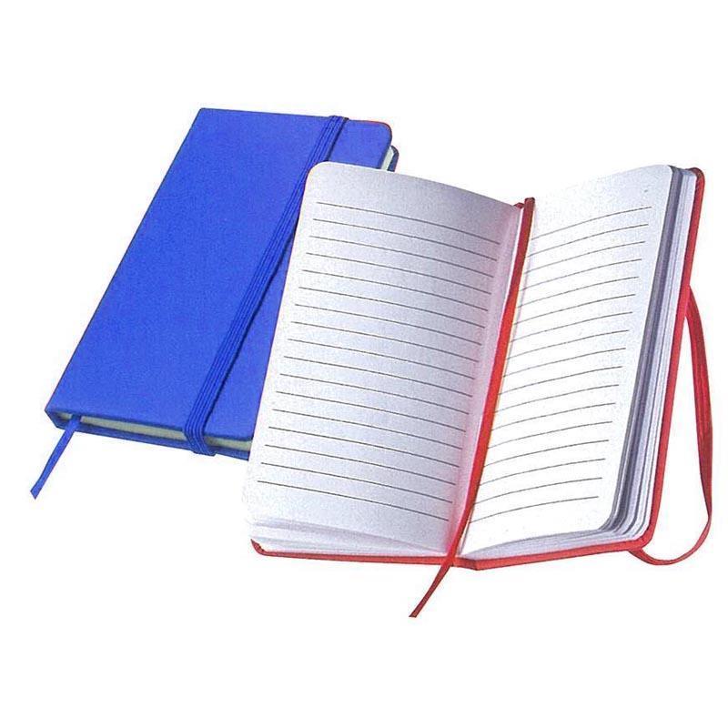 Σημειωματάριο ραφτό μπλε Υ13x8εκ.
