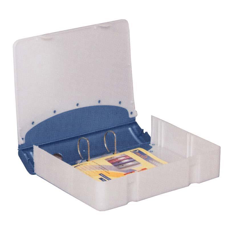 Κλασέρ-κουτί αρχειοθέτ. PP μπλε Υ36x28x7,5εκ.