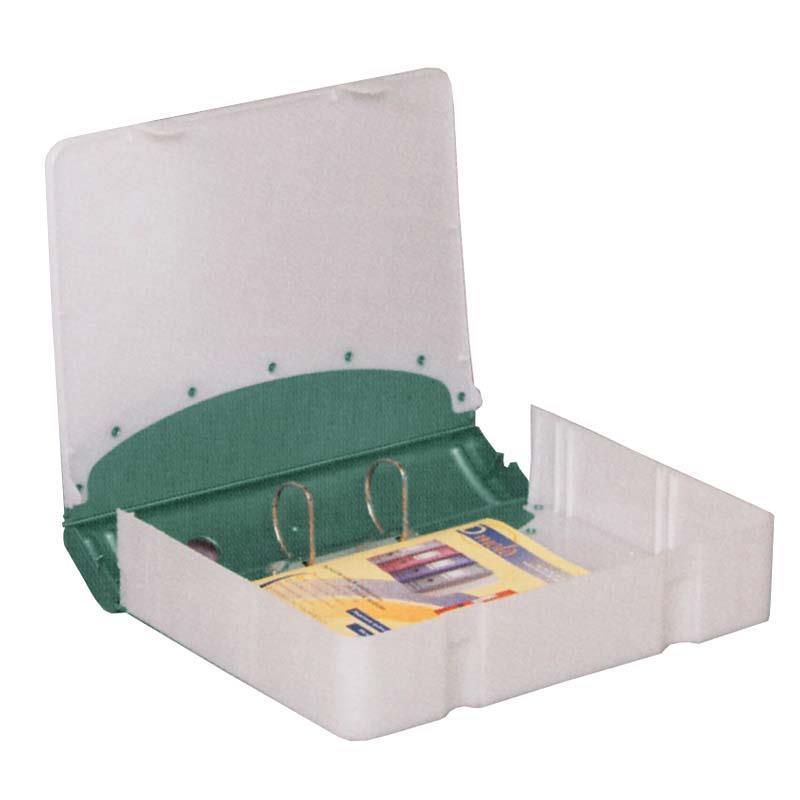 Κλασέρ-κουτί αρχειοθέτ. PP πράσινο Υ36x28x7,5εκ.