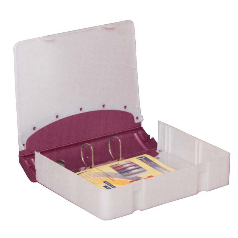 Κλασέρ-κουτί αρχειοθέτ. PP μωβ Υ36x28x7,5εκ.