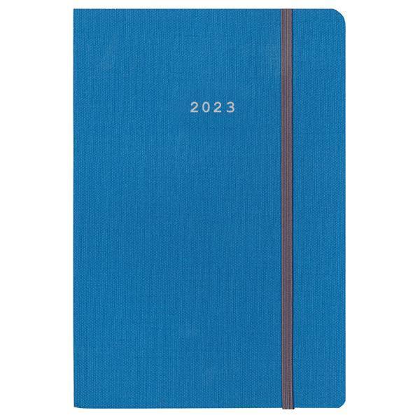 Next ημερολόγιο 2022 nomad ημερήσιο flexi μπλε με λάστιχο 17x25εκ.