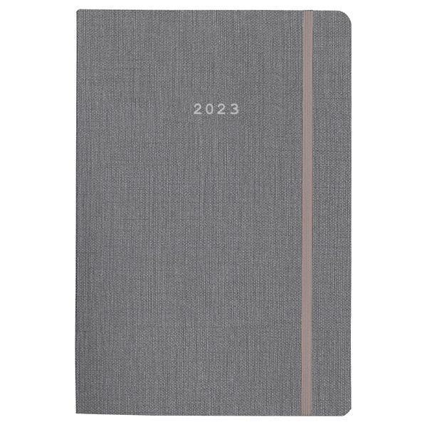 Next ημερολόγιο 2022 nomad ημερήσιο flexi γκρι με λάστιχο 12x17εκ.