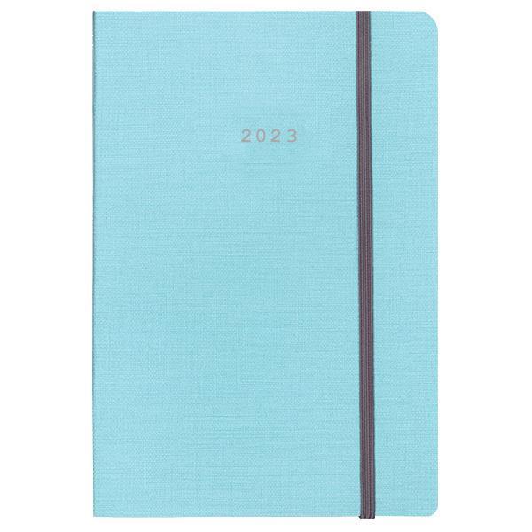 Next ημερολόγιο 2022 nomad ημερήσιο flexi γαλάζιο με λάστιχο 12x17εκ.