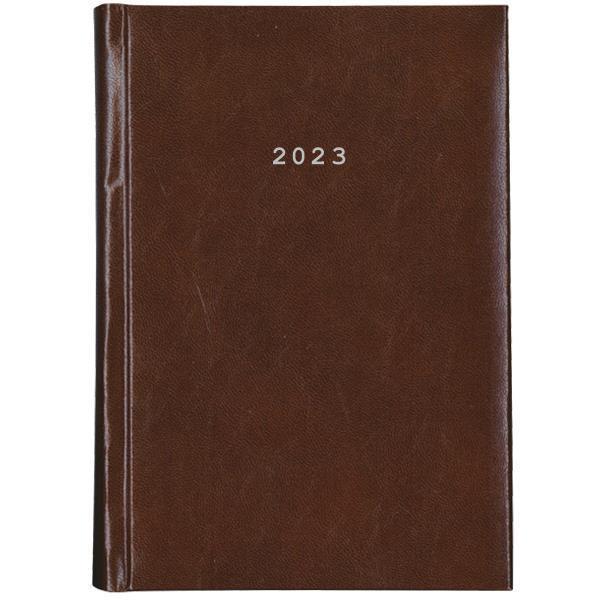 Next ημερολόγιο 2022 prestige ημερήσιο δετό καφέ 17x25εκ.