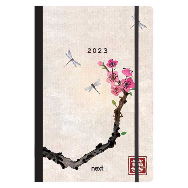 Next ημερολόγιο 2022 Trends ημερήσιο flexi με λάστιχο 14x21εκ. Japan art