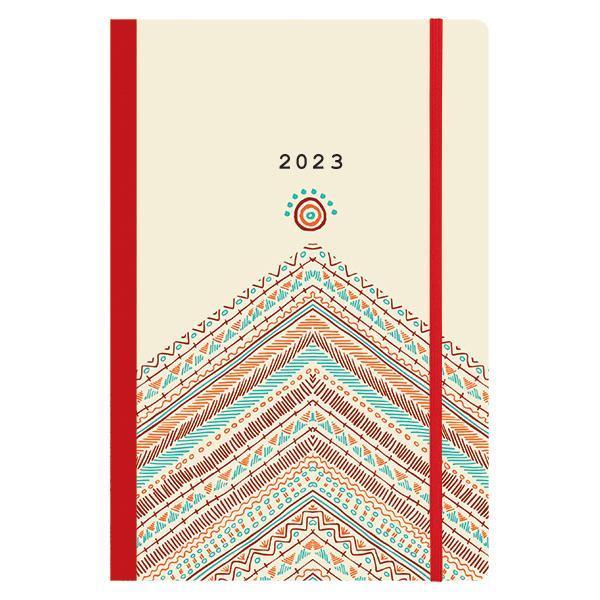 Next ημερολόγιο 2022 Trends ημερήσιο flexi με λάστιχο 14x21εκ. Boho style