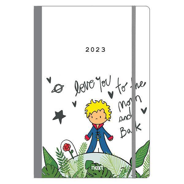 Next ημερολόγιο 2022 Trends ημερήσιο flexi με λάστιχο 14x21εκ. Little prince