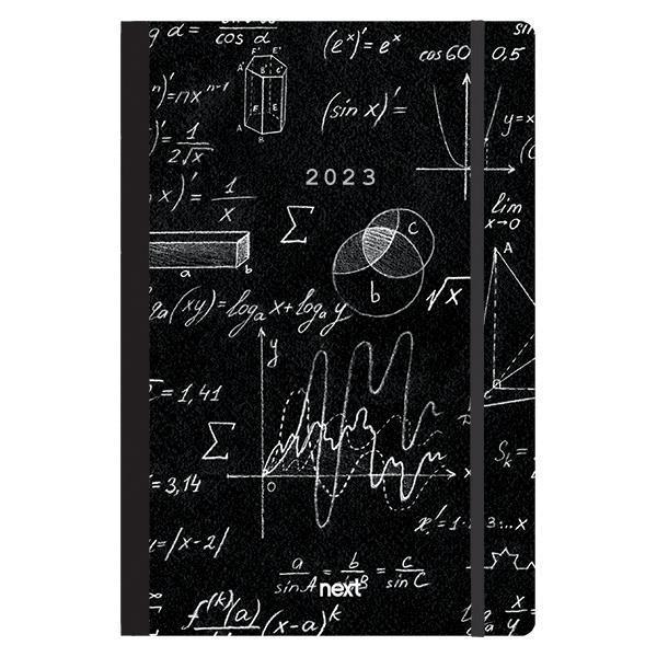 Next ημερολόγιο 2022 Trends ημερήσιο flexi με λάστιχο 12x17εκ. Mathematics