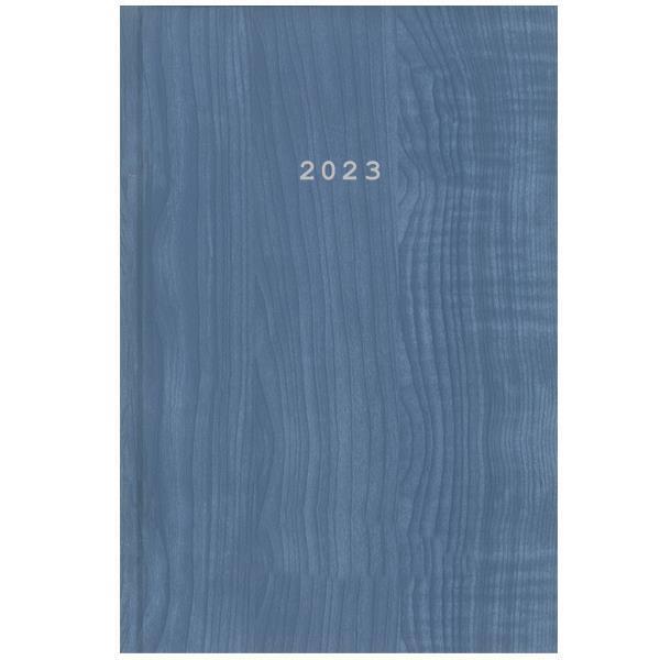Next ημερολόγιο 2022 wood ημερήσιο δετό γαλάζιο 17x25εκ.