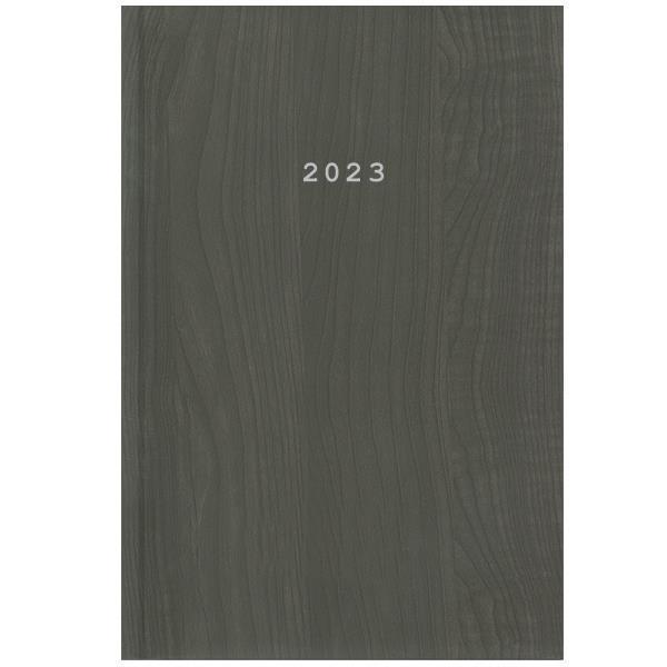 Next ημερολόγιο 2022 wood ημερήσιο δετό καφέ 17x25εκ.