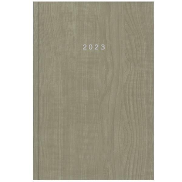 Next ημερολόγιο 2022 wood ημερήσιο δετό μπεζ 17x25εκ.