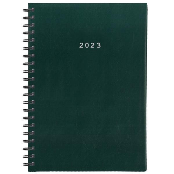 Next ημερολόγιο 2022 basic xl ημερήσιο σπιράλ πράσινο 21x29εκ.