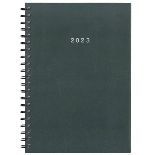 Next ημερολόγιο 2022 basic xl ημερήσιο σπιράλ γκρι 21x29εκ.
