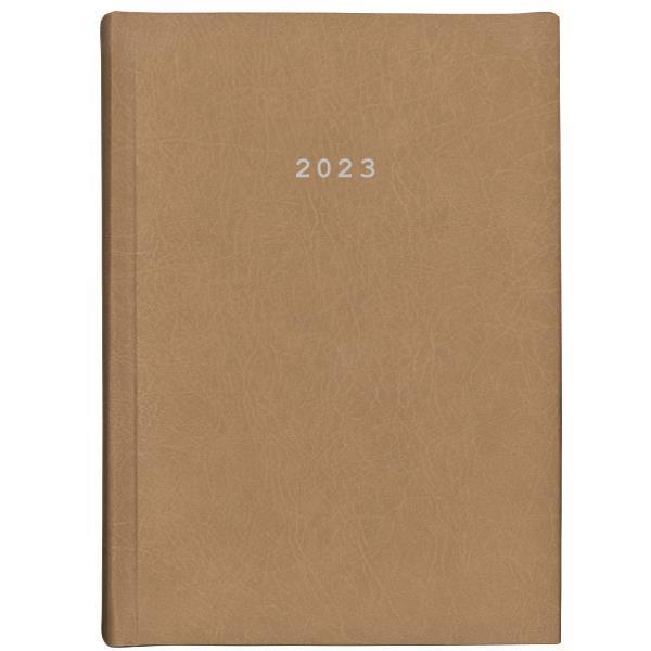 Next ημερολόγιο 2022 old leather ημερήσιο δετό ταμπά 17x25εκ.