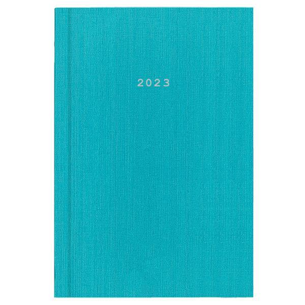 Next ημερολόγιο 2022 fabric ημερήσιο δετό γαλάζιο 17x25εκ.