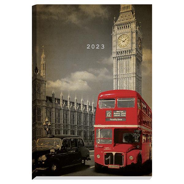 Next ημερολόγιο 2022 Gallery ημερήσιο δετό 14x21εκ, Βig Ben