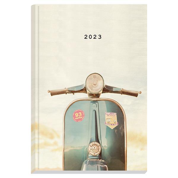 Next ημερολόγιο 2022 Gallery ημερήσιο δετό 12x17εκ, Vespa
