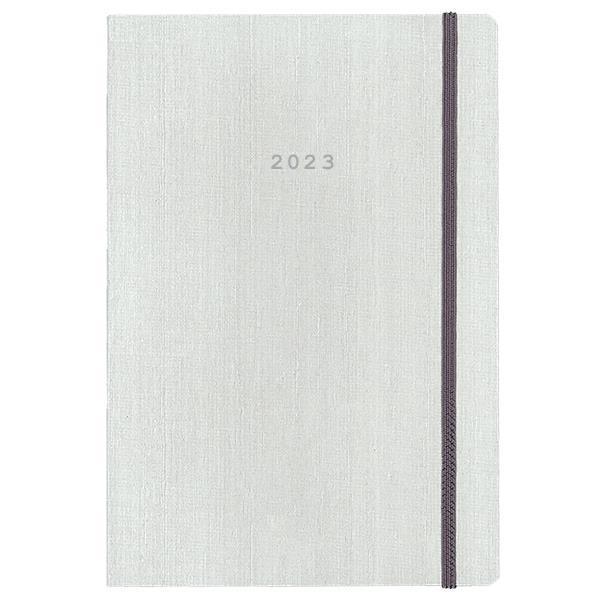 Next ημερολόγιο 2022 fabric ημερήσιο flexi λευκό με λάστιχο 17x25εκ.