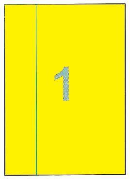 Fleks ετικέτ. αυτοκόλ. κίτρινες 210x297mm 1/φ 25φ Α4