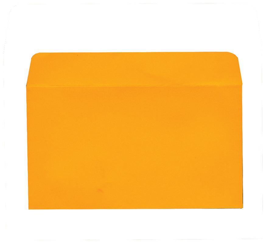 Φάκελος πολυτ. 200γρ. πορτοκαλί 16x23εκ. 20τμχ
