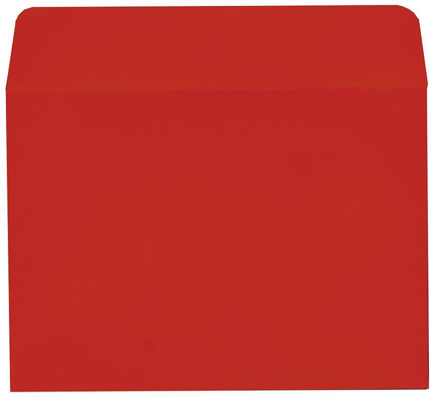 Φάκελος πολυτ. 200γρ. κόκκινο 16x23εκ. 20τμχ