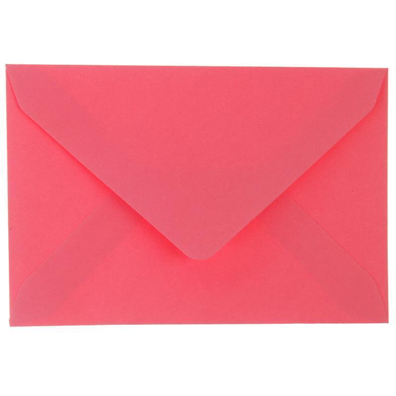 Φάκελοι αλληλογραφίας ροζ πακέτο 20 τεμ. 7,5x11εκ.