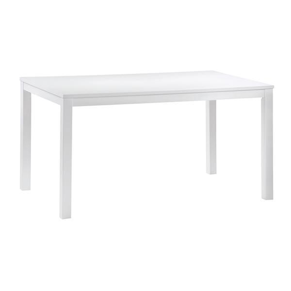 NATURALE τραπέζι από λευκό Mdf Y74x120x80εκ.