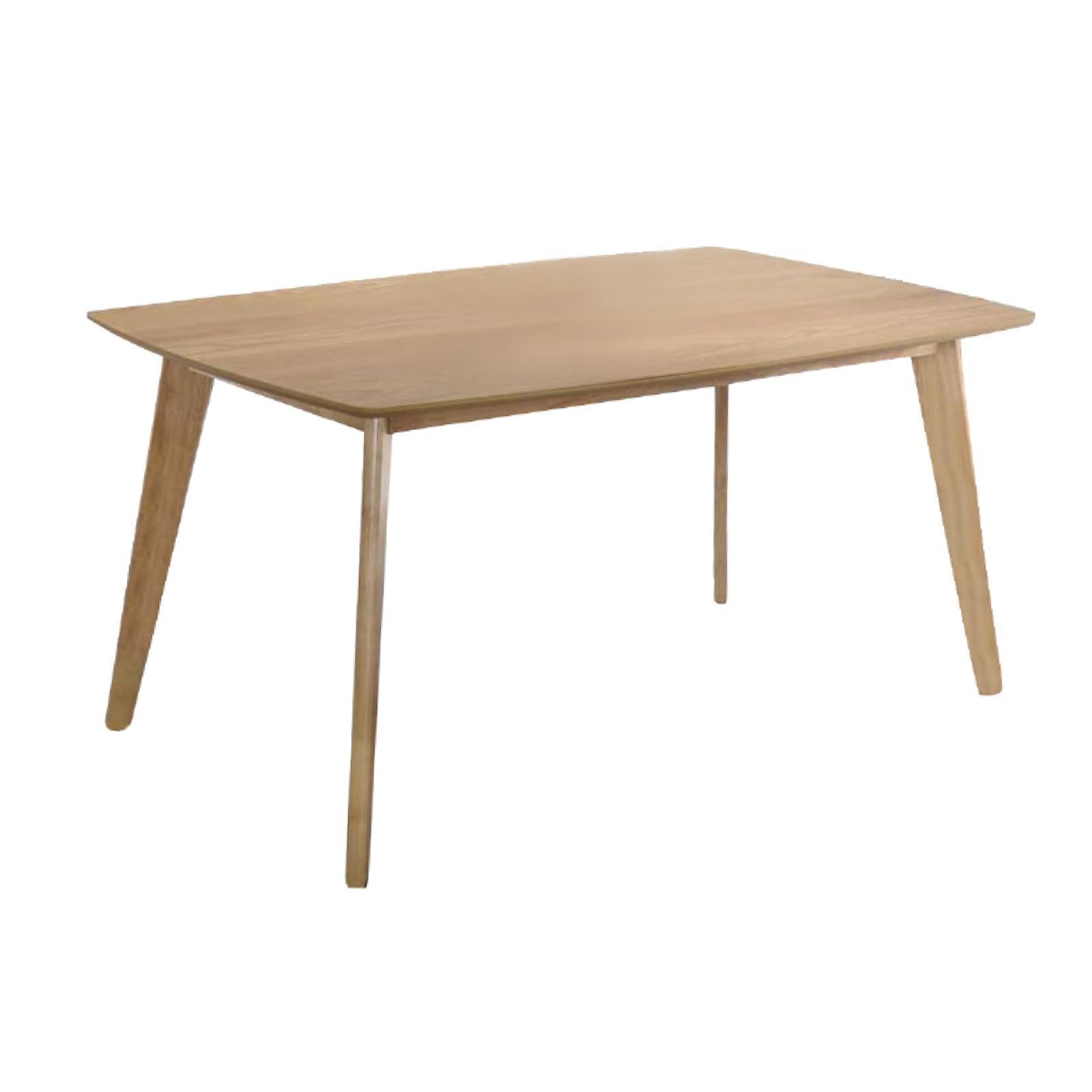 CALVIN τραπέζι τραπεζαρίας φυσικό Υ75x120x80εκ.
