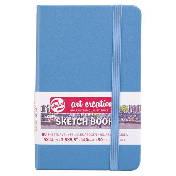 Talens Sketch book γαλάζιο 80φυλ. 9x14εκ. 140 γρ.