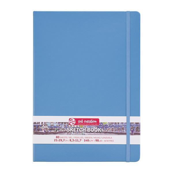 Talens Sketch book γαλάζιο 80φυλ. 21x30εκ. 140 γρ.