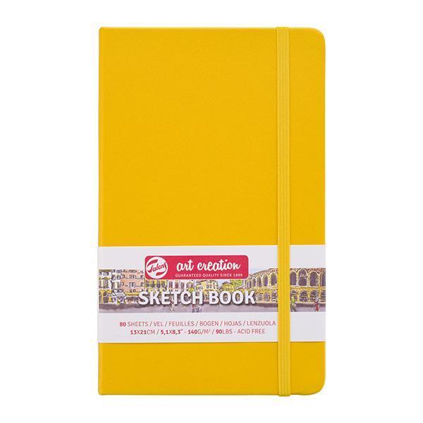 Talens Sketch book κίτρινο 80φυλ. 13x21εκ. 140γρ.