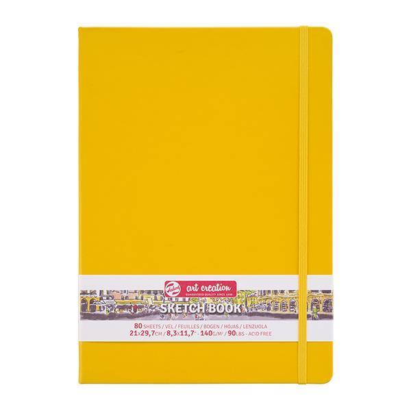 Talens Sketch book κίτρινο 80φυλ. 21x30εκ. 140 γρ.