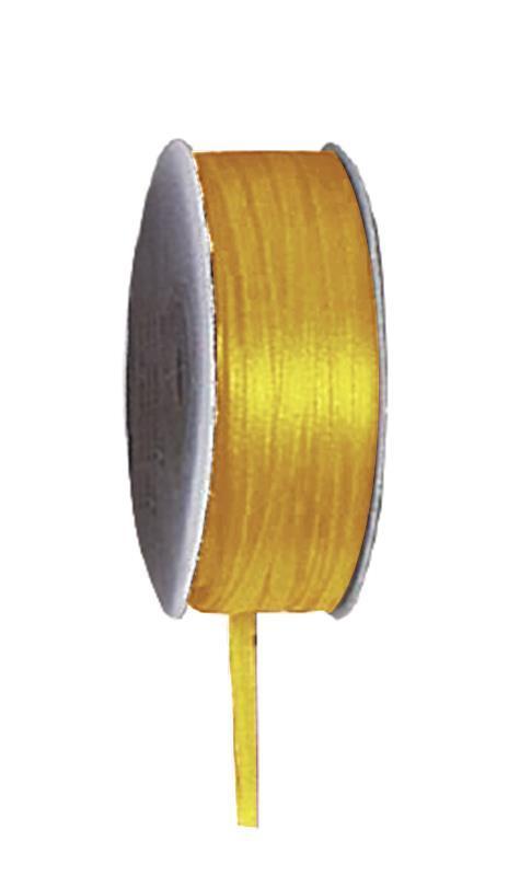 Κορδέλα σατέν διπλής όψης με ούγια μπέζ 3mm x100μ.