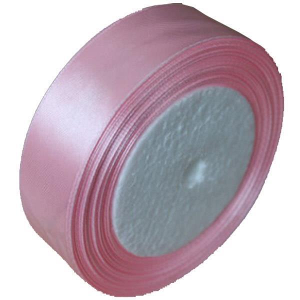 Κορδέλα σατέν με ούγια ροζ 2,5εκ. x 22μ.