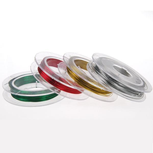 Σύρμα κοκτέηλ 4 χρώματα 10μέτρα