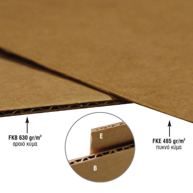 Μικροβέλε χαρτόνι fkb 630γρ. 50x70εκ.